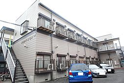 埼玉県越谷市瓦曽根2の賃貸アパートの外観