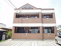 愛知県豊田市野見町5丁目の賃貸アパートの外観