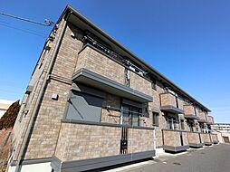 千葉県成田市江弁須の賃貸アパートの外観