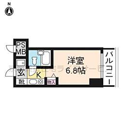 プラネシア京都[7階]の間取り