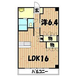 パルティール横濱[5階]の間取り