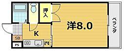 クレアトール23[1階]の間取り