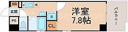 レクシア木川西[2階]の間取り