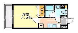 マンションチェリータワー[9階]の間取り