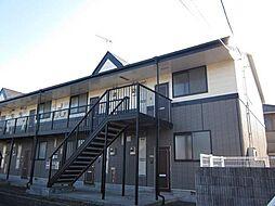 栃木県下野市小金井4丁目の賃貸アパートの外観