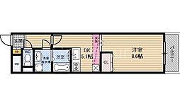 Kurise諏訪[2階]の間取り