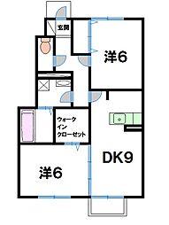 プチファミーユ[1階]の間取り