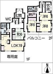 [一戸建] 愛知県愛知郡東郷町和合ケ丘1丁目 の賃貸【/】の間取り