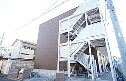 神奈川県相模原市南区相南4の賃貸アパートの外観