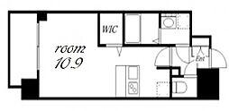 プレサンス金山デュアル[11階]の間取り