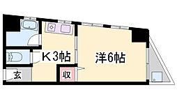 セイワマンション[3階]の間取り