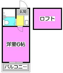 LH本町[1階]の間取り