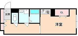 サニーハウス豊中[3階]の間取り