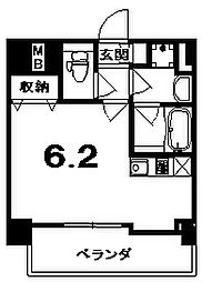 ALTA京都堀川ウインドア[601号室]の間取り