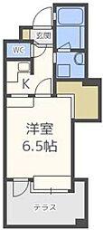 アイビースクエアマンション[13階]の間取り