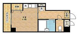 アイルイン武蔵新城[401号室]の間取り