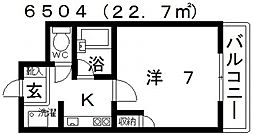 ユーコート21[202号室号室]の間取り