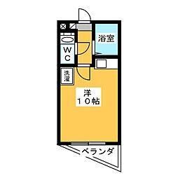 ジュネスヤイヅ[2階]の間取り