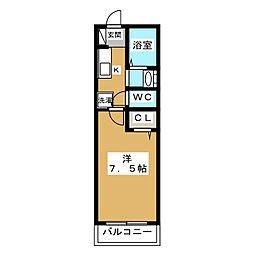メゾン・ド・ルミエール[1階]の間取り