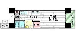 TMK江坂[5階]の間取り