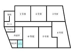Casa de Kei 成増[303号室]の間取り