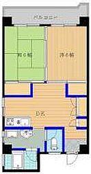 第5西田ビル[7階]の間取り