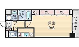 サムティナンバ南[8階]の間取り