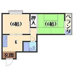 フルハウス84[301号室]の間取り