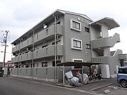 すずらん館Aの鉄筋コンクリート造、出窓がかわいい角部屋です。