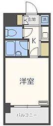 ピュアドームリブレ薬院[8階]の間取り