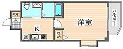 エステムコート博多祇園ツインタワーファーストステージ[12階]の間取り