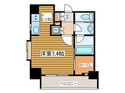 東京都府中市寿町1丁目の賃貸マンションの間取り
