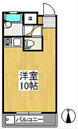 ハミング櫛原[2階]の間取り