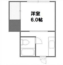 北海道札幌市西区山の手三条7丁目の賃貸アパートの間取り