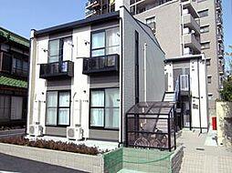 埼玉県川口市桜町1の賃貸アパートの外観