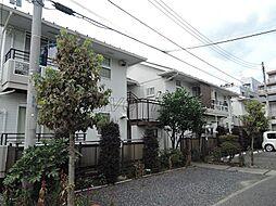 東京都府中市本宿町2丁目の賃貸アパートの外観