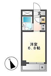 ドール堀田II[2階]の間取り