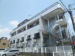 東京都北区豊島3丁目の賃貸マンションの外観