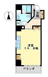 丸の内セントラルハイツ[8階]の間取り