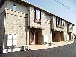 広島県東広島市八本松飯田6丁目の賃貸アパートの外観