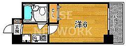 エスリード京都河原町第2[702号室号室]の間取り