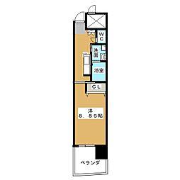 N apartment[3階]の間取り