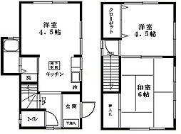 [一戸建] 東京都江戸川区西一之江3丁目 の賃貸【/】の間取り
