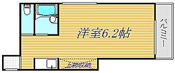 東京都豊島区西巣鴨3丁目の賃貸マンションの間取り