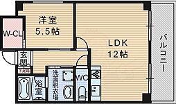 北大阪急行電鉄 緑地公園駅 徒歩3分の賃貸マンション 1階1LDKの間取り