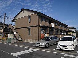 茨城県神栖市大野原2丁目の賃貸アパートの外観