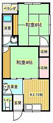 大住ハウス[2階]の間取り