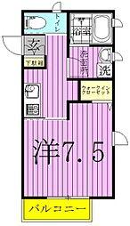 エレーナ青山台[1階]の間取り