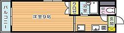 ステージア祇園[4階]の間取り