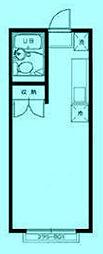 エステート東洋[2階]の間取り